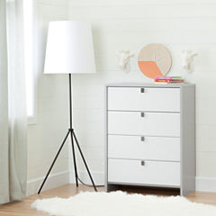 South Shore Cookie 4-Drawer Chest