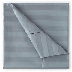 Royal Velvet® 500tc Wrinkle-Free Damask Stripe Sheet Set