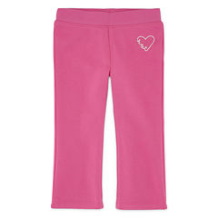 Okie Dokie® Fleece Pants - Baby Girls newborn-24m