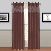 Cambridge Home Alla Grommet-Top Curtain Panel