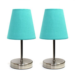 Simple Designs 2-pc. Table Lamp