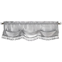 Croscill Classics® Luxembourg Rod-Pocket Tasseled Valance