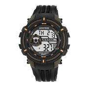 Armitron® Mens Green Strap Watch