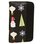 Buxton Christmas Pik-Me-Ups Snap Card Case