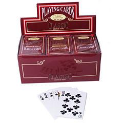 Bridge Deck Coated Playing Cards-12 Decks