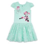 Disney® Pink Minnie Knit Dress - Girls 7-16