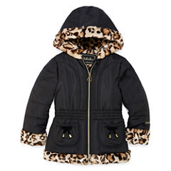 Girls Midweight Puffer Jacket-Preschool