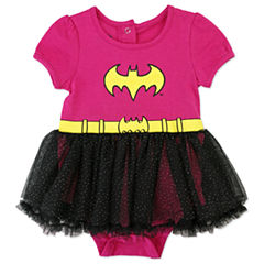 2-pc. Batgirl Bodysuit Set-Baby Girls