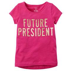 Carter's Graphic T-Shirt-Toddler Girls