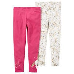 Carter's Star Knit Leggings - Toddler Girls