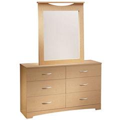 Reese 6-Drawer Dresser or Mirror