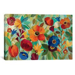 Summer Floral V by Silvia Vassileva Canvas Wall Art