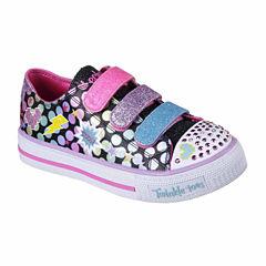 Skechers Twinkle Toes Shuffles Girls Sneakers