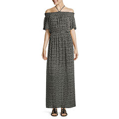 As U Wish Sleeveless Maxi Dress-Juniors