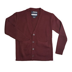 French Toast® Button-Front V-Neck Cardigan - Boys 4-7