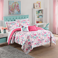 Waverly Reverie Floral Midweight Reversible Comforter Set