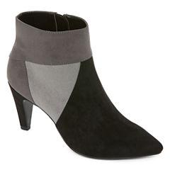Liz Claiborne® Kocey Colorblock Ankle Boots