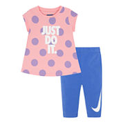 Nike Girls Legging Set-Baby