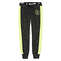 Inspired Hearts Side Stripe Joggers - Girls