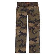 Arizona Belted Cargo Pants - Boys 8-20, Slim and Husky