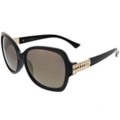 Oleg Cassini Full Frame Rectangular UV Protection Sunglasses-Womens