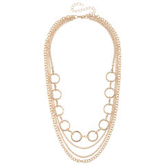 Bold Elements Chain Necklace