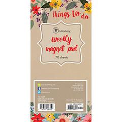 Secret Garden 70 Page Magnetic List Pad