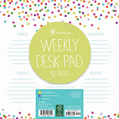 Sprinkles Weekly Desk Pad