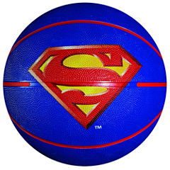 Franklin Sports Mini Rubber Basketball - Superman
