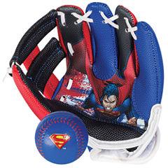 Franklin Sports Air Tech® Glove & Ball Set - Superman