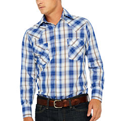 Ely Cattleman Long Sleeve Snap Western Shirt