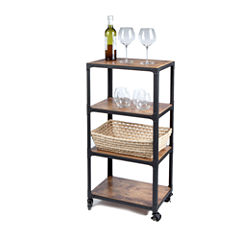 Mind Reader ' Charm' 4 Tier Utility Cart