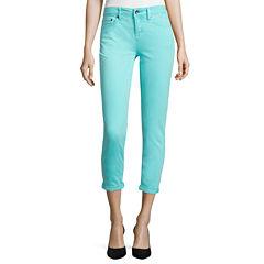 Stylus™ Roll-Cuff Skinny Ankle Jeans