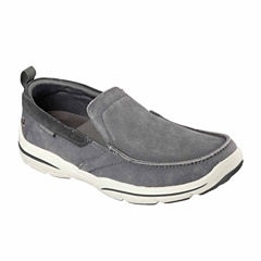 Skechers® Delen Mens Casual Moc-Toe Loafers