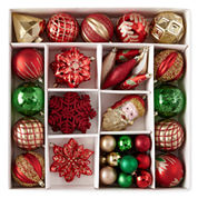 North Pole Trading Co. 50 Piece Heirloom Boxed Ornaments
