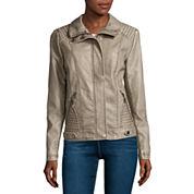 SEB Scuba Long-Sleeve Faux-Fur-Collar Coat