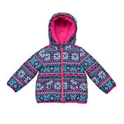 Carter's® Snowflake Long-Sleeve Coat - Toddler Girls 2t-5t