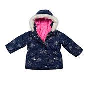 Carter's® Print Long-Sleeve Coat - Toddler Girls 2t-5t