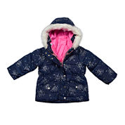 Carter's® Multicolor Long-Sleeve Coat - Toddler Girls 2t-5t