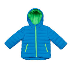 Carter's® Blue Quilted Long-Sleeve Hooded Coat - Preschool Boys