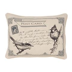 Levtex Lise Grey Oblong Decorative Pillow