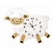 Trend Lab® Baby Barnyard Lamb Wall Clock