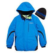 Zeroxposur® Snowboard Jacket with Beanie - Boys 8-20
