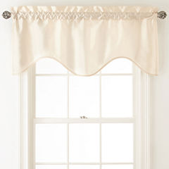 Royal Velvet® Plaza Thermal Interlined Rod-Pocket Scalloped Valance
