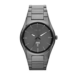 Relic® Sheldon Mens Stainless Steel & Gunmetal IP Watch ZR12124