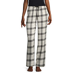 Flirtitude Poplin Pajama Pants-Juniors