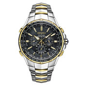Seiko Mens Two Tone Bracelet Watch-Ssg010