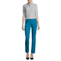 Worthington® Elbow-Sleeve Clean-Front Shirt or Slim-Fit Ankle Pants