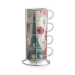 Paris 5-pc. Coffee Mug