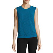 Worthington® Sleeveless Pullover Sweater